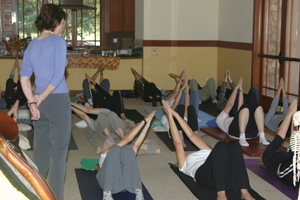 Participants learn how to move easier