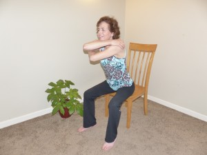 Some of the exercises can be done at your desk!